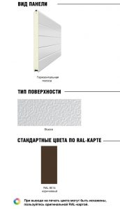 Уличные калитки стандартных размеров DoorHan