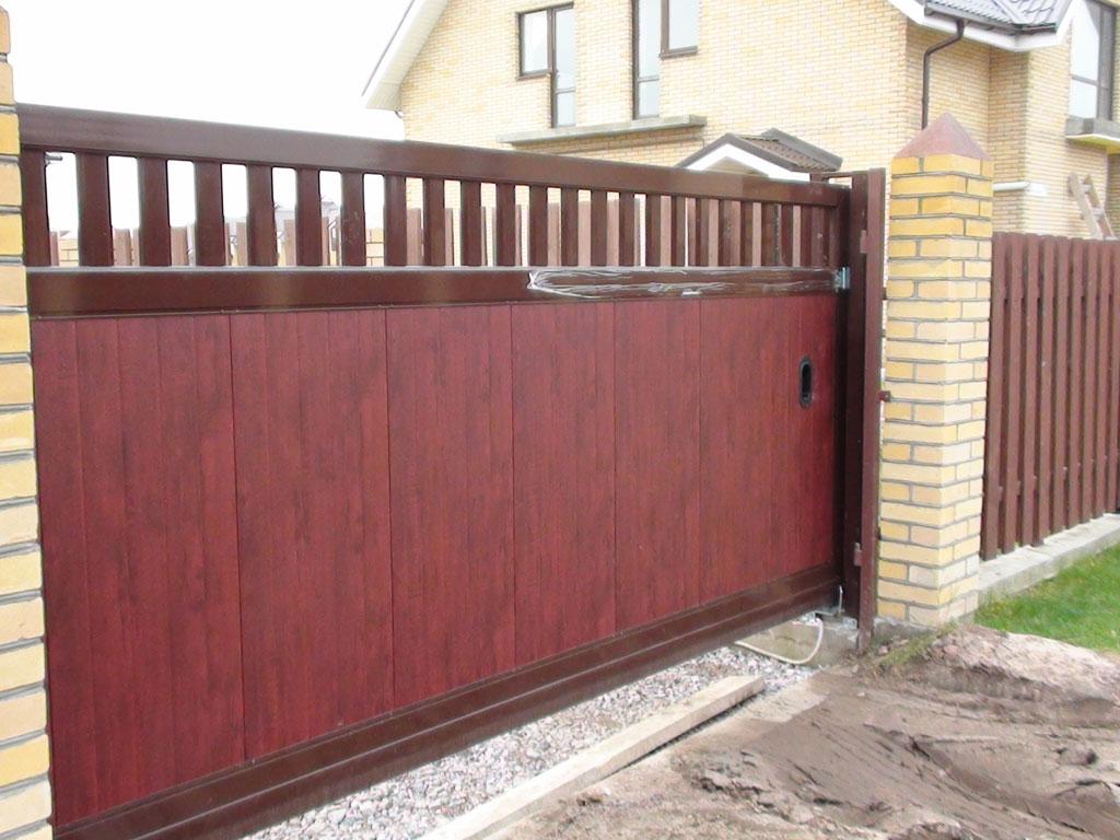 Откатные ворота в майкопе автоматика для ворот ro 500