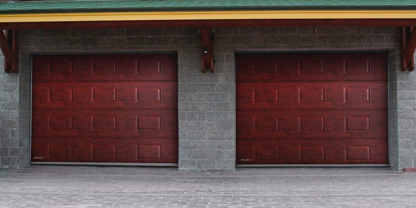 Гаражные ворота DoorHan серия RSD02