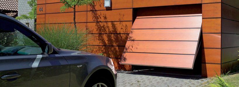 Ворота гаражные подъемно поворотные