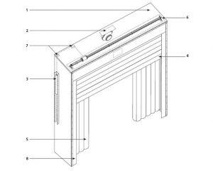 Надувные герметизаторы проема DoorHan